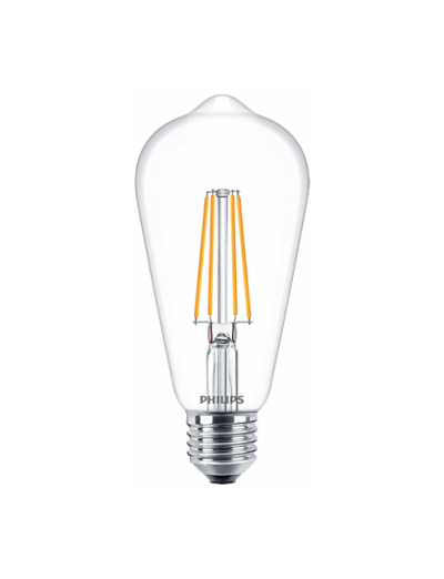 Philips LED лампа 60W ST64 E27 топла светлина 871869976305300