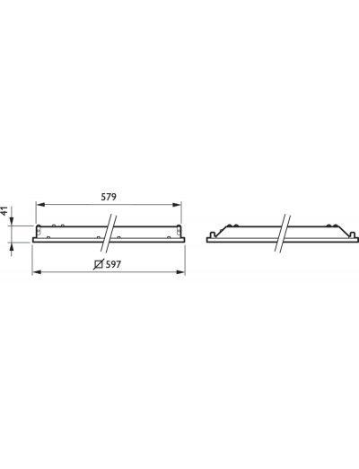 Philips Ledinaire LED панел за вграждане 871869606959200