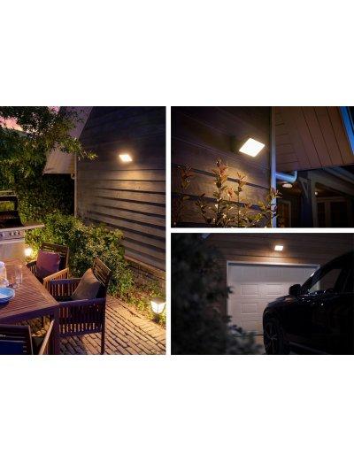 Philips, Прожектор, WiFi, LED, 2300Lm, 15 W, Hue Welcome, IP44, Бял, 1743630P7