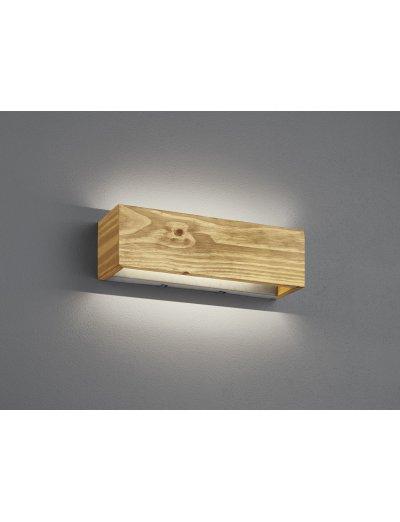 Trio Аплик Brad 1х13.5W Интегриран LED 1800Lm Дървесен 223790130