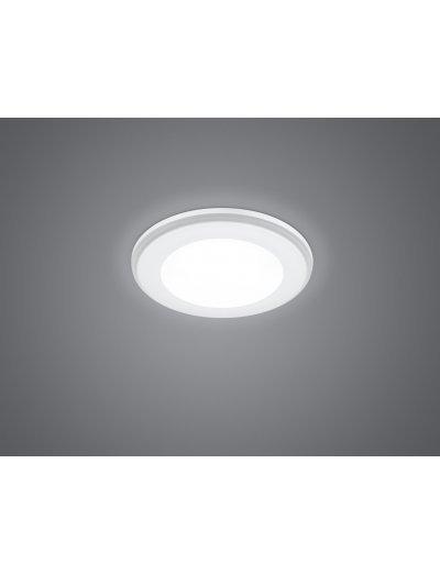 Trio Луна за вграждане Aura 1x5.5W LED 450Lm Бял мат 652310131
