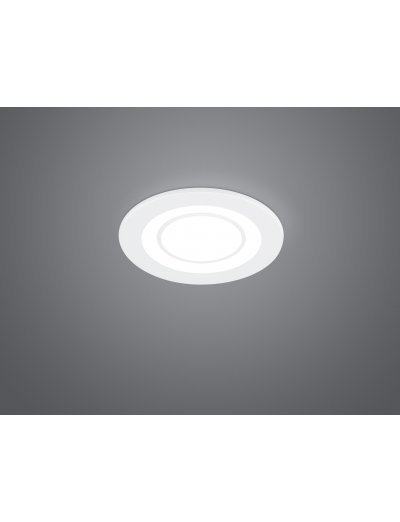 Trio Луна за вграждане Core 1x5W Интегриран LED 450Lm Бял мат 652510131