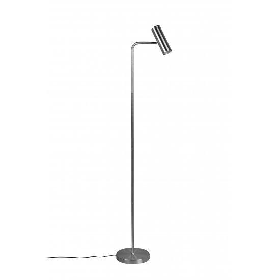 Trio Стояща лампа 5W, 1xGU10, Marley, никел мат 412400107 - Настолни лампи и лампиони
